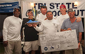 Crew with 2015 Tri State Canyon award check.